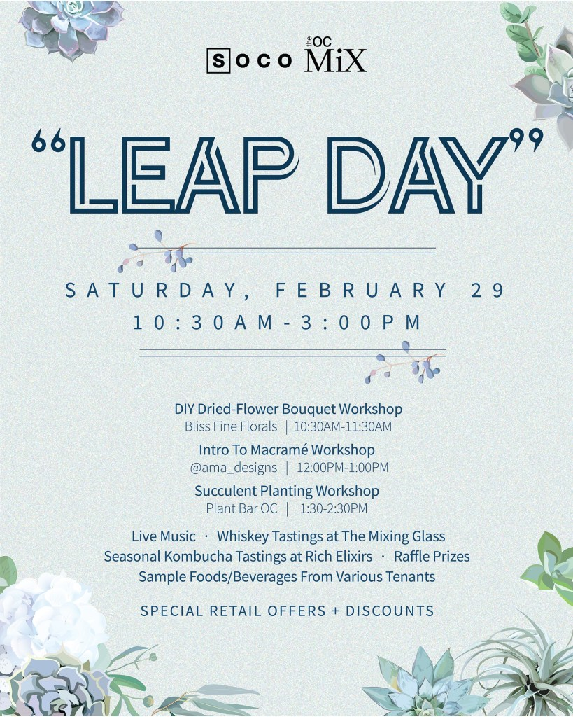 Leap Day Event in Orange County