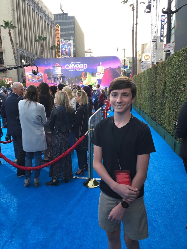 Pixar World Premiere