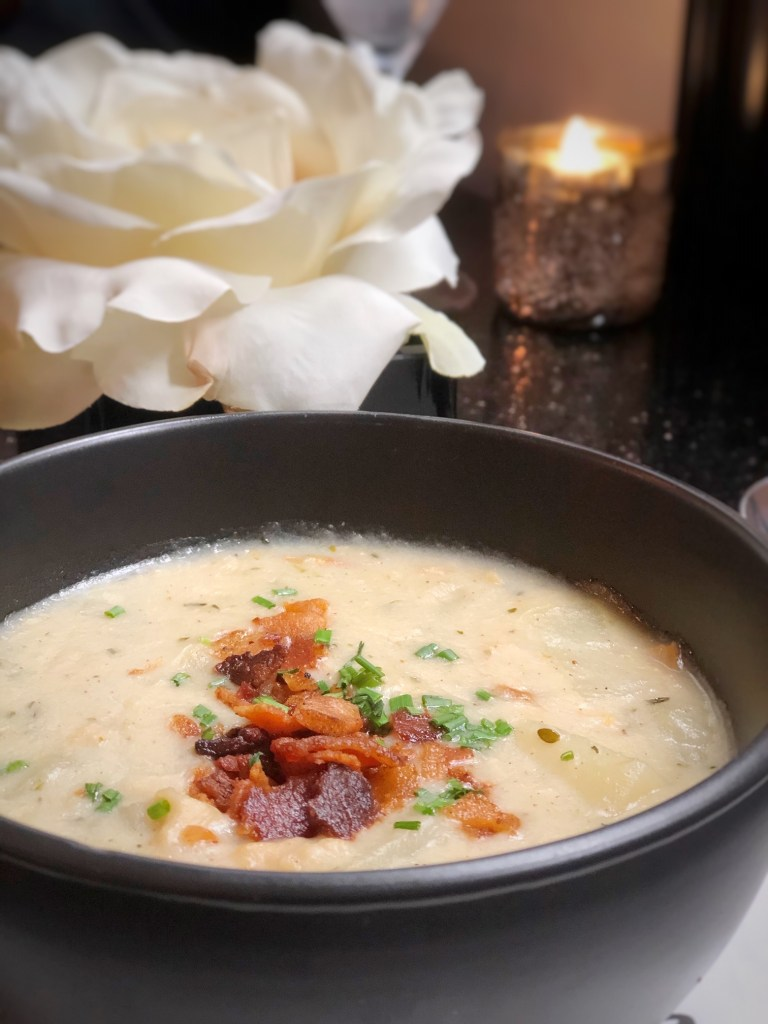 Clam chowder from Scarlet Kitchen & Lounge