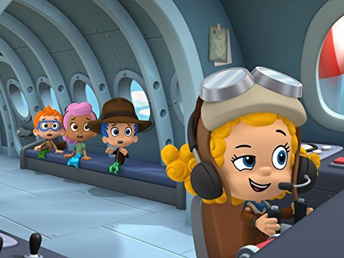 Scene from Bubble Guppies