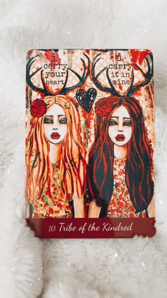 Tribe of the Kindred Tarot Card