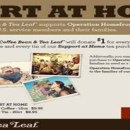 Support our Troops with The Coffee Bean & Tea Leaf through August 11