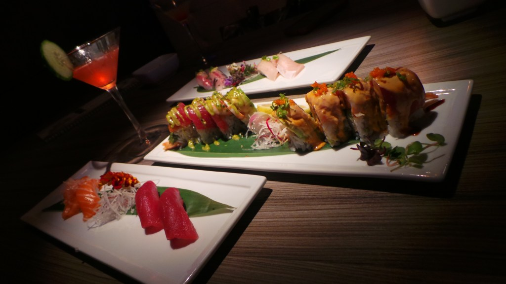 presentation Superior Quality Sushi at H2O Sushi & Izakaya in Costa Mesa