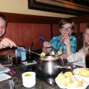 Family New Year's Eve Dining Celebration at The Melting Pot