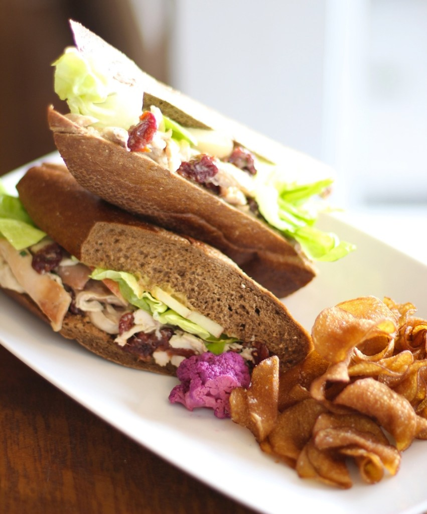 Provisions Chicken Salad Sandwich.  Photo courtesy of Provisions Market.