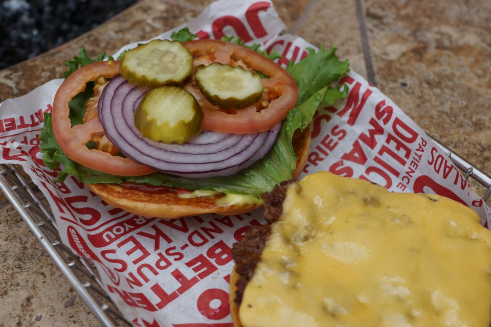 Traditional Smashburger