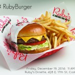 Ruby's Celebrates 32nd Anniversary with 32¢ RubyBurger