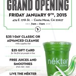 You're Invited to the Nekter Grand Opening Celebration