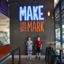 Fast Family Friendly Pizza at Blaze Pizza in Orange
