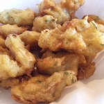 Deep Fried Artichokes at Moss Landing Cafe