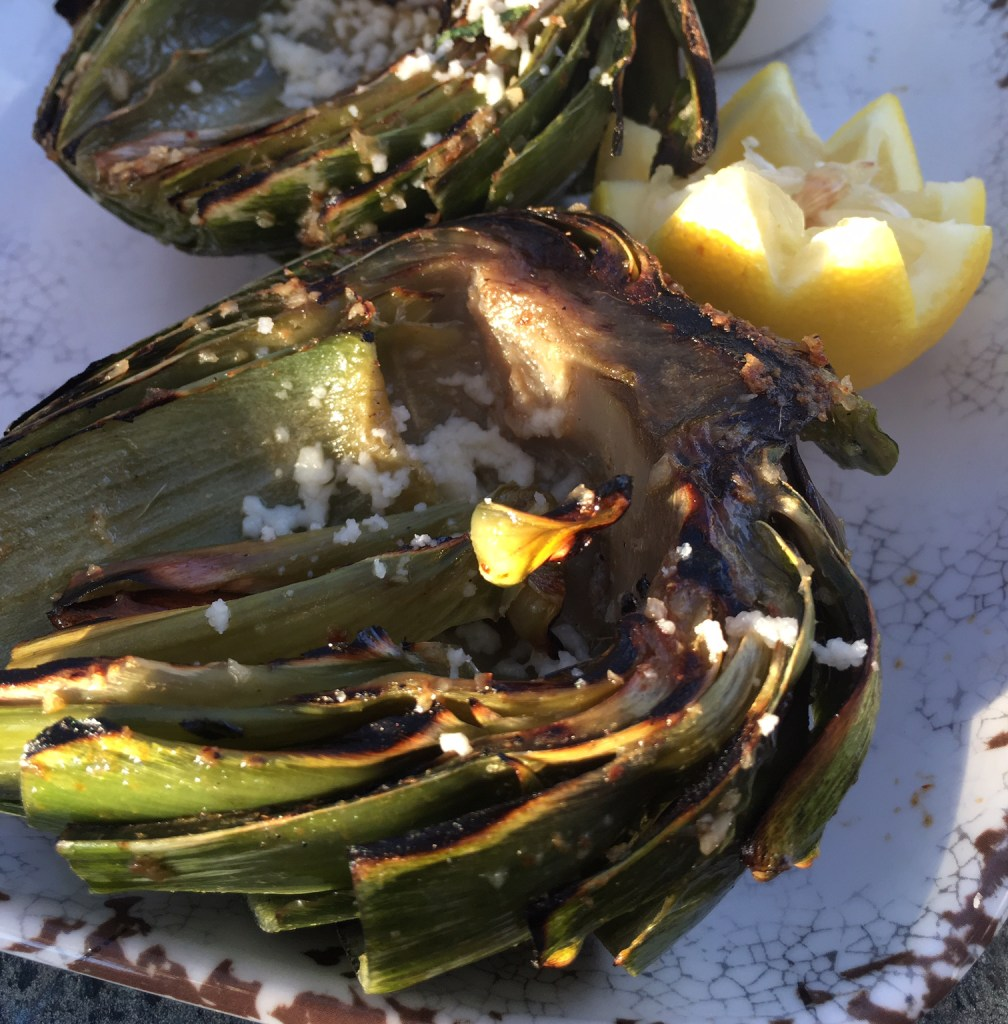 artichoke at las brisas