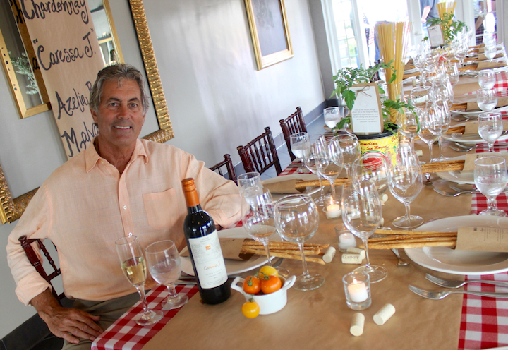 Vince Ferragamo at Back Bay Bistro​
