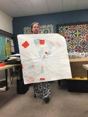 Susan's Challenge quilt