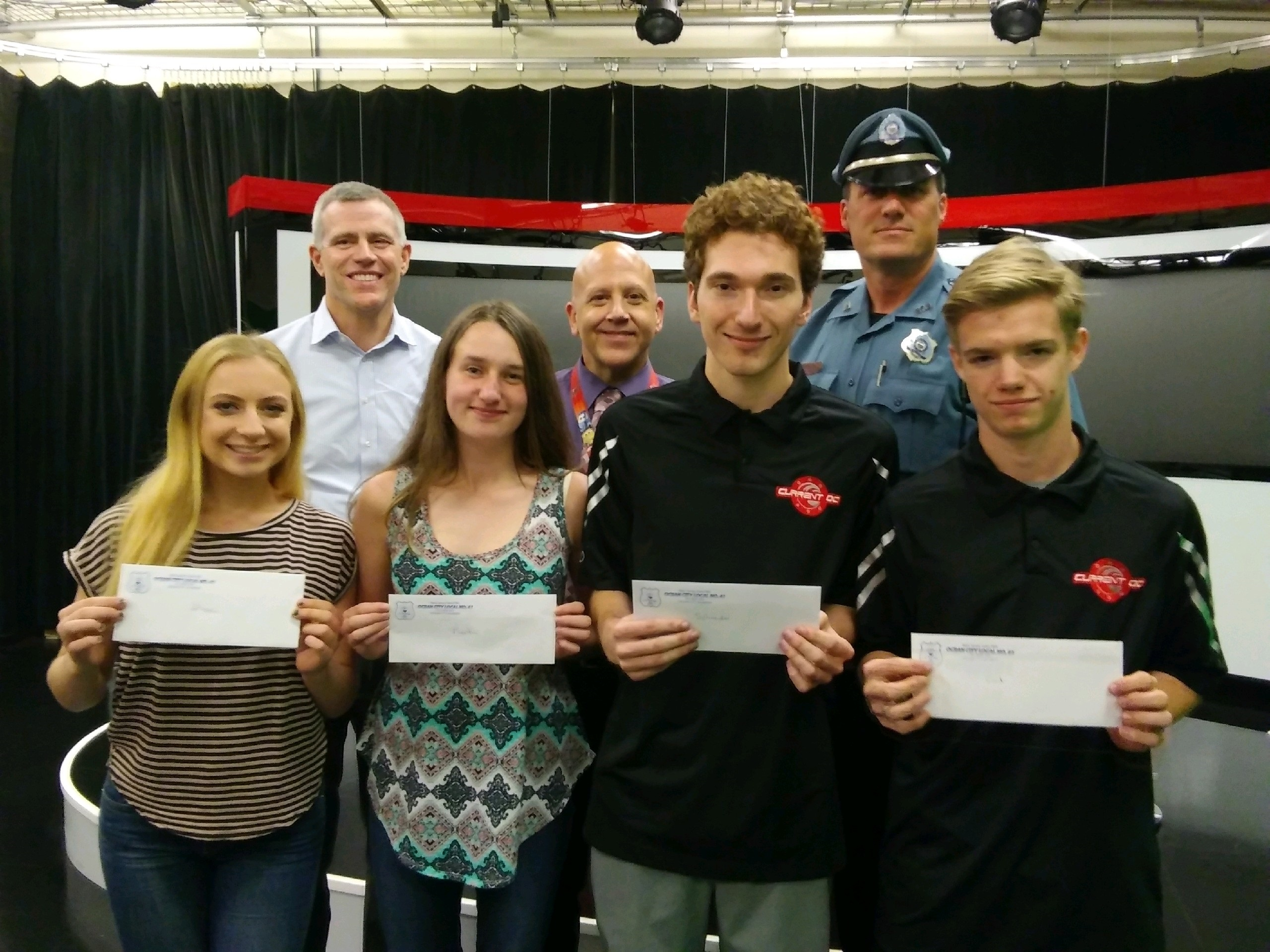 Ocean City High School Students Win Bike Safety Contest