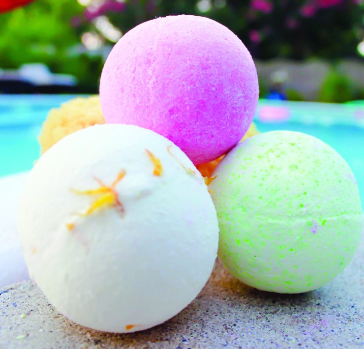 Bath Fizzies from LEH Soap