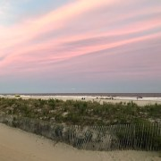 Pink clouds over OC