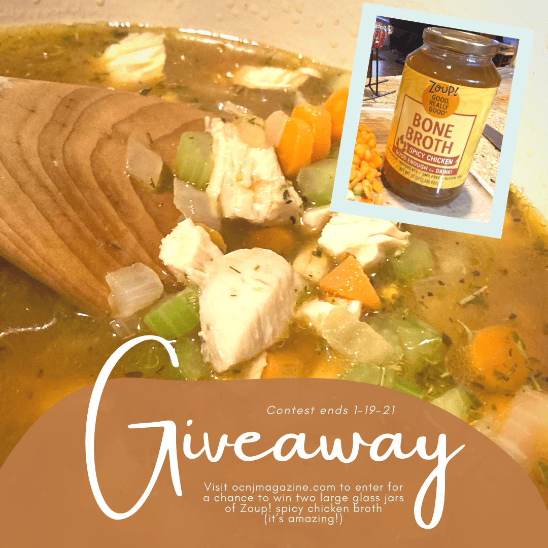 OC Mag Zoup spicy chicken broth giveaway