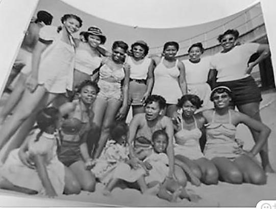 Ladies on Beach OC