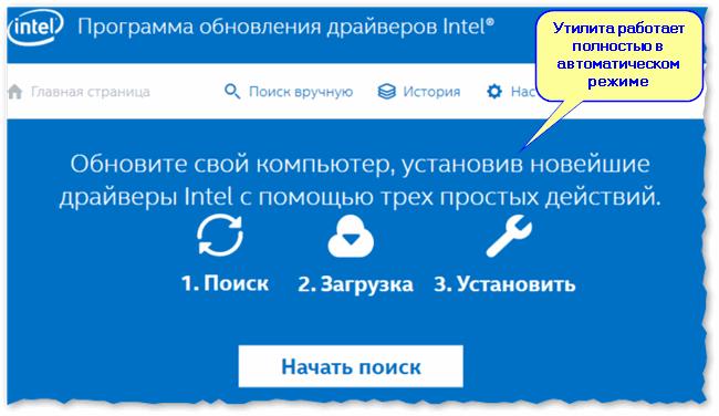 Hulpprogramma van Intel