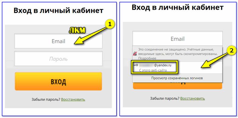 De cache van de browser onthoudt Mail!