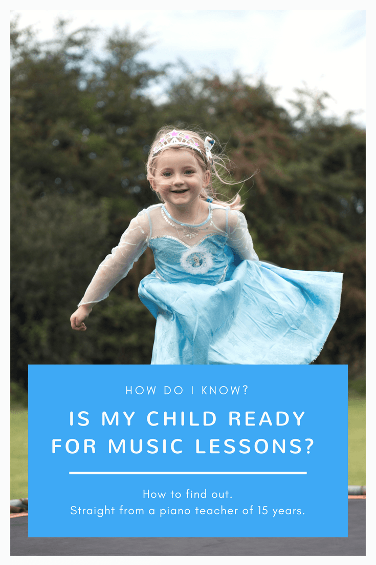 How do I know if my child is ready for music lessons?