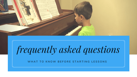 FAQ: What should I know before starting private lessons?