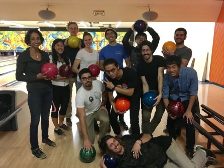 The O'Connell Lab goes bowling!