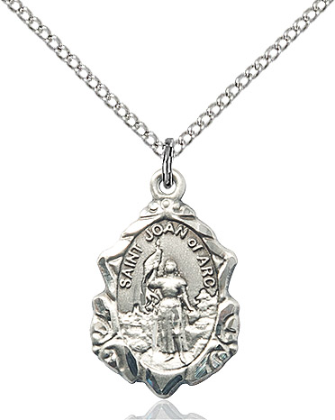 O'Connors Church Supply St. Joan of Arc Pendant