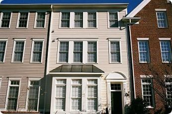 Exterior 3-Story Townhouse