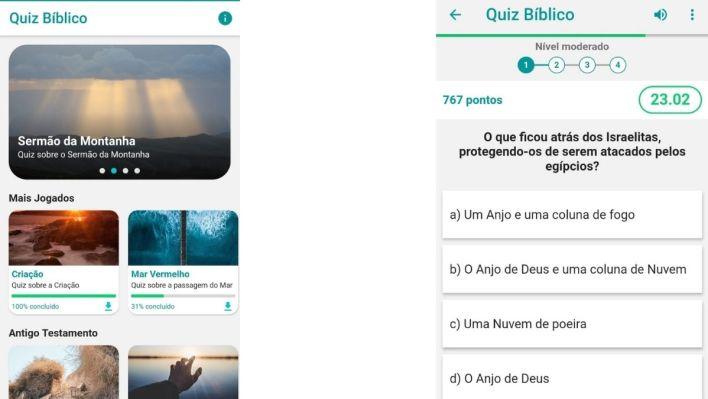 jogo de Perguntas e Respostas Sobre a Bíblia