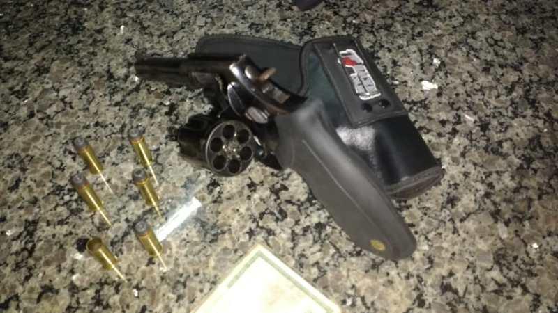 Homens são presos em Araguaína por porte de arma ilegal