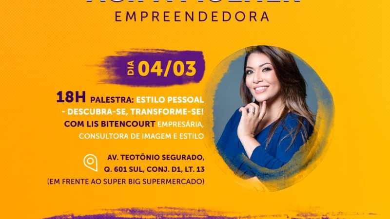 Acipa promove palestras em comemoração à semana da mulher