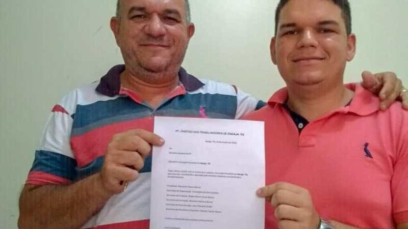PT de Itacajá define Clayton como pré-candidato a prefeito
