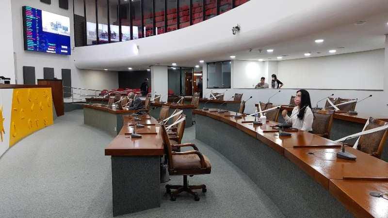 Assembleia organiza Plenário para sessões presenciais