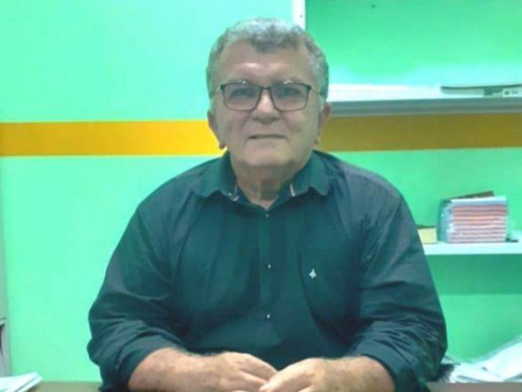 Vítima de infarto, Raimundo Gordo, prefeito de Santa Tereza, falece aos 61 anos