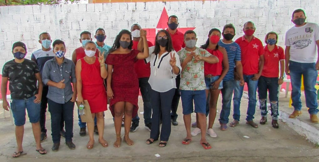 Partido dos Trabalhadores fecha chapa com 14 candidatos a vereador na Convenção de Sampaio