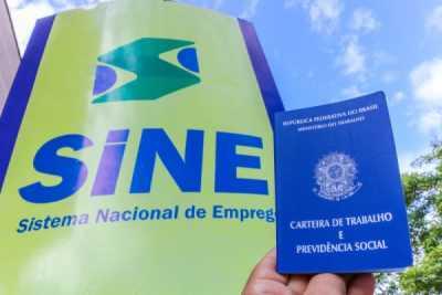 Tocantins disponibiliza 368 vagas de emprego em 8 municípios