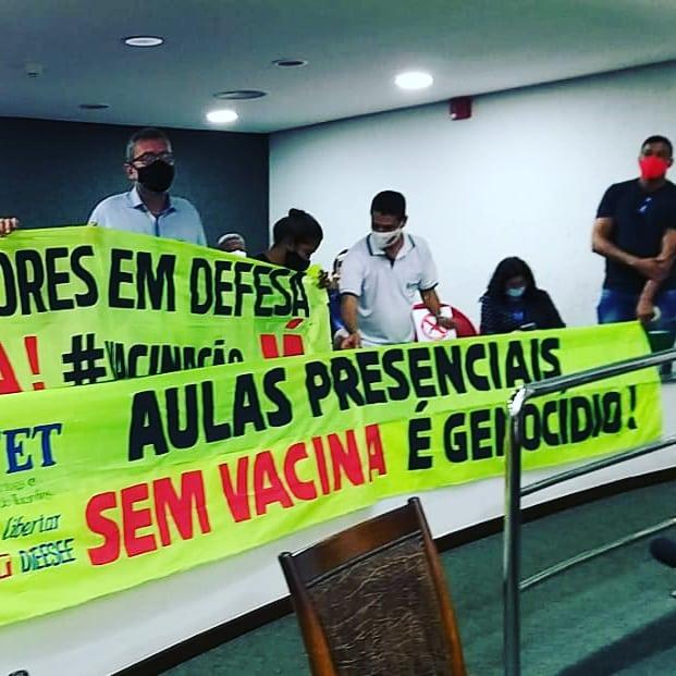 Após educação aprovar indicativo de greve, Prefeitura suspende retorno das aulas presenciais em Palmas