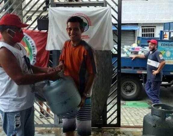 Ação da CMP e FUP vende gás de cozinha a 29 reais nesta quinta em Palmas