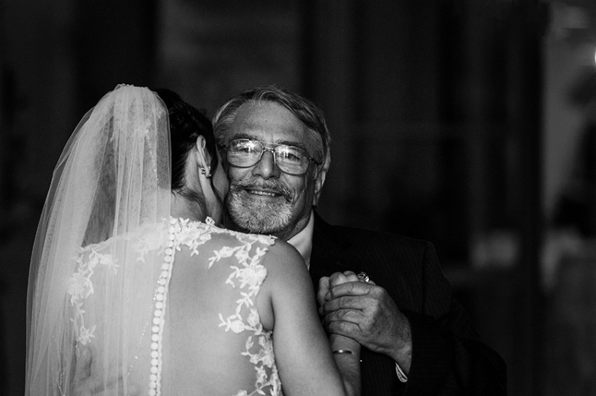 bride dance with her father emotional