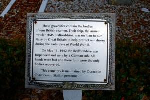 br cemetery 4 seamen sign
