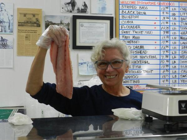 Patty Johnson Plyer, Ocracoke Fish House