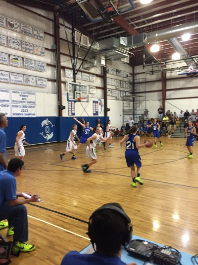 Basketball on Ocracoke. Photo by P. Vankevich