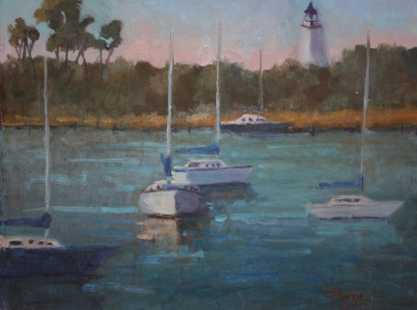 Silver Lake morning  by Suzanne Morris.