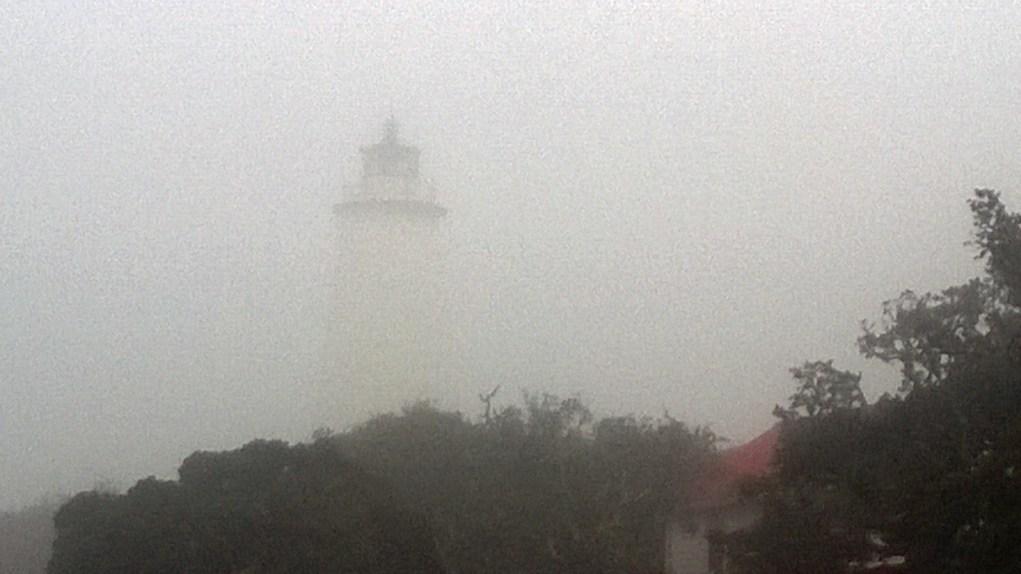 Ocracoke in the fog PS
