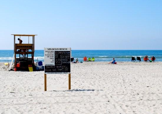 NPS Lifeguards Ocracoke. Photo by C. Leinbach