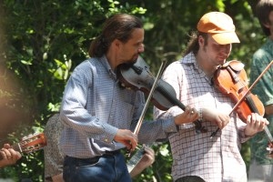 Fiddler Dave & Rob sharer, Ocrafolk Festival