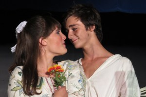 Caroline Temple and Waylon Underwood are the young lovers this year.
