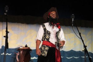 Rob Touhey is Blackbeard this year.