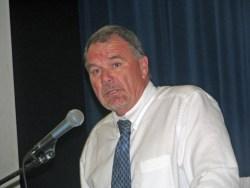 Ocracoke School principal Walt Padgett. Photo by P. Vankevich